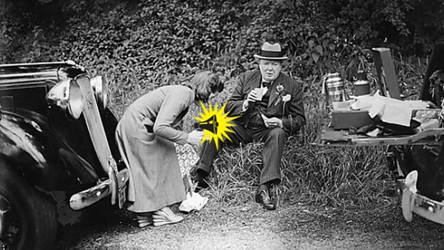 La hija de Winston Churchill o el llevar sándwiches en el maletero como medida de seguridad. Autodefensa, concretamente