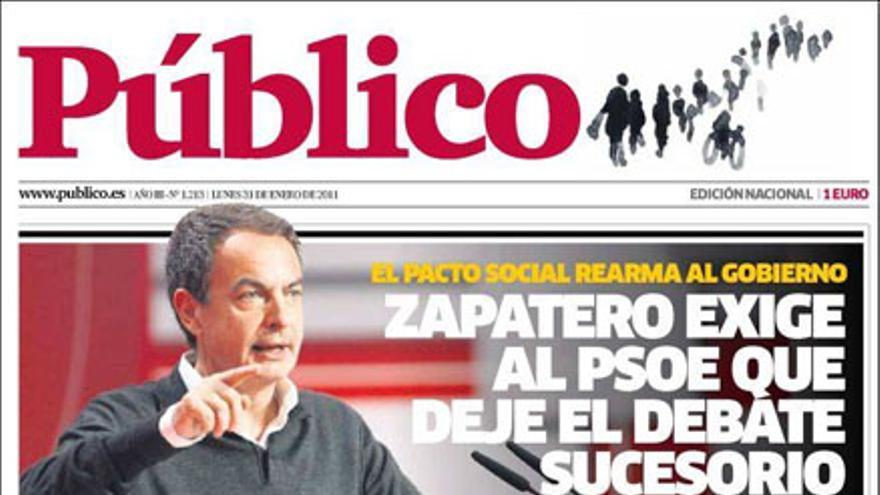 De las portadas del día (31/01/11) #12