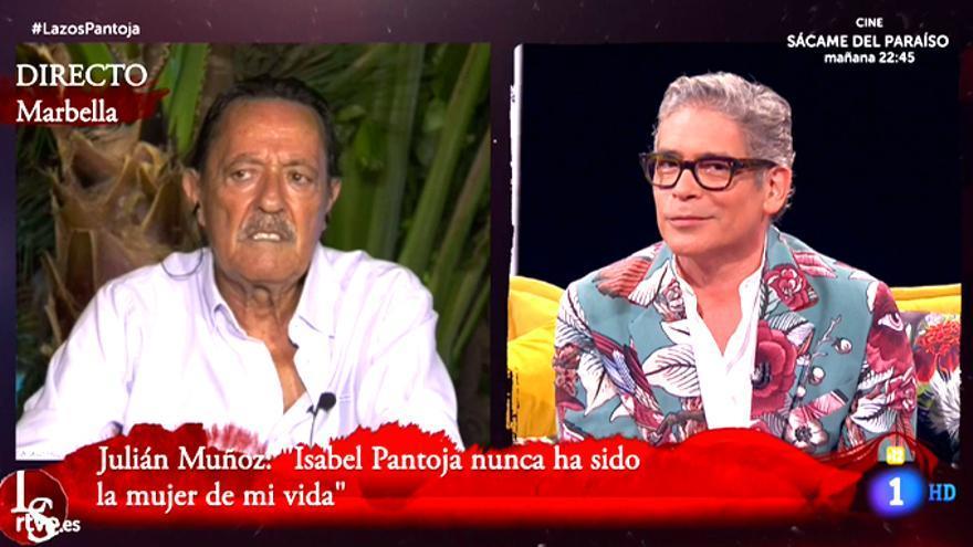 Julián Muñoz entrevistado en 'Lazos de Sangre' de TVE