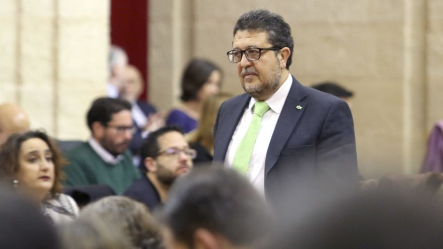 Francisco Serrano, líder de Vox en Andalucía