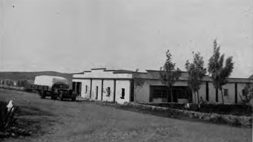 Colonia Agrícola Penitenciaria de Tefía, ubicada en el antiguo aeropuerto de Fuerteventura.