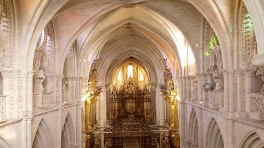 Nave central de la catedral de Cuenca