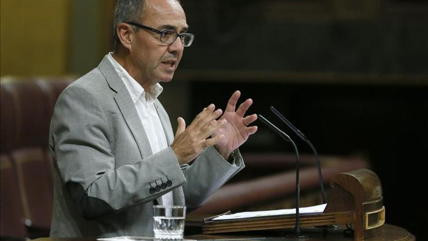 ICV pide a Rajoy que salga de su inmovilismo y reconozca el derecho a decidir