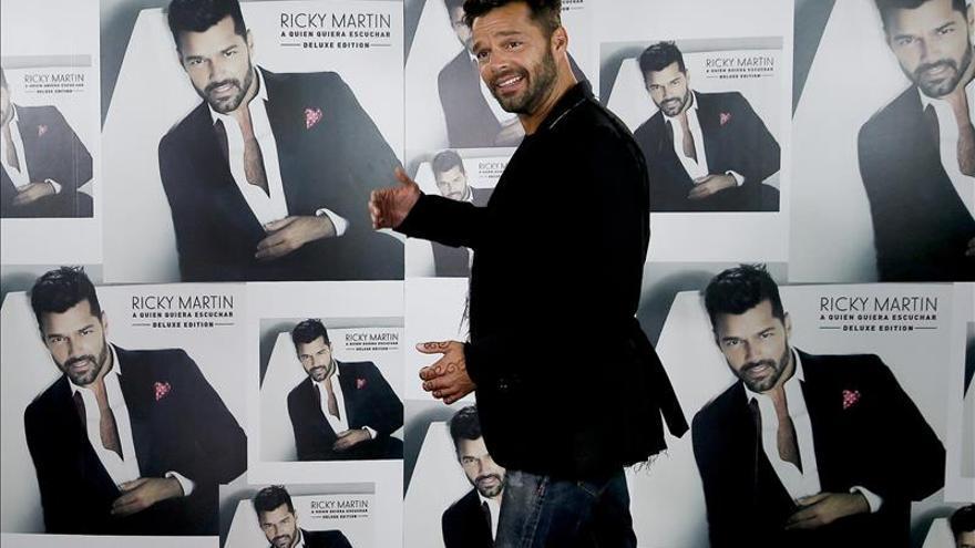 Ricky Martin muestra su apoyo a la candidatura de Hillary Clinton