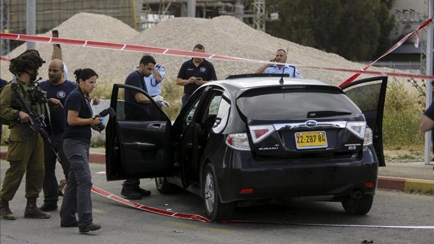 Tres israelíes heridos en un presunto atropello intencionado de un palestino