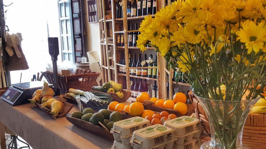 En 'Surcos de La Palma' se pueden adquirir verduras de La Palma.
