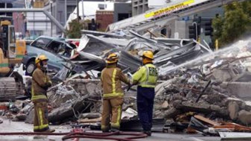 Daños del terremoto. (EUROPA PRESS)