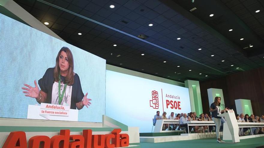 Susana Díaz apela a igualdad territorial y a la herencia histórica del PSOE