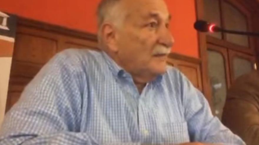 Alberto Franceschi, en la conferencia ofrecida en el Gabinete Literario el pasado 6 de junio.