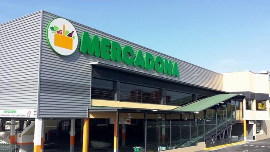 En la imagen, un supermercado de Mercadona.