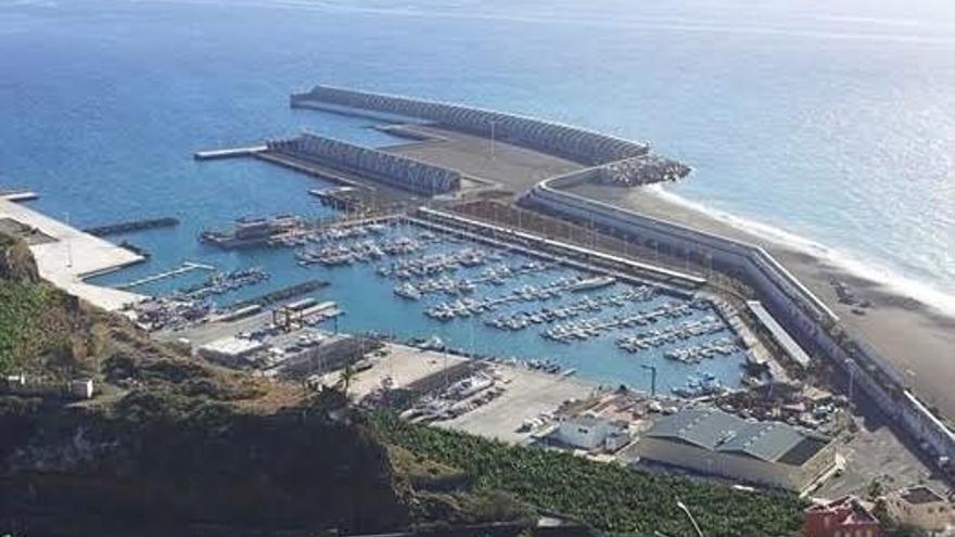 Panorámica del Puerto de Tazacorte. Foto: NC.