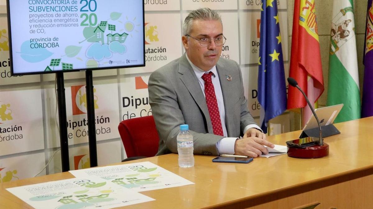 El presidente de la Agencia Provincial de la Energía, Víctor Montoro, en una imagen de archivo.