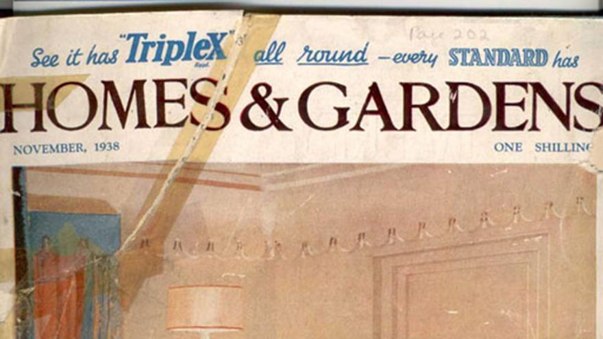 El Casa y Jardín británico, noviembre de 1938