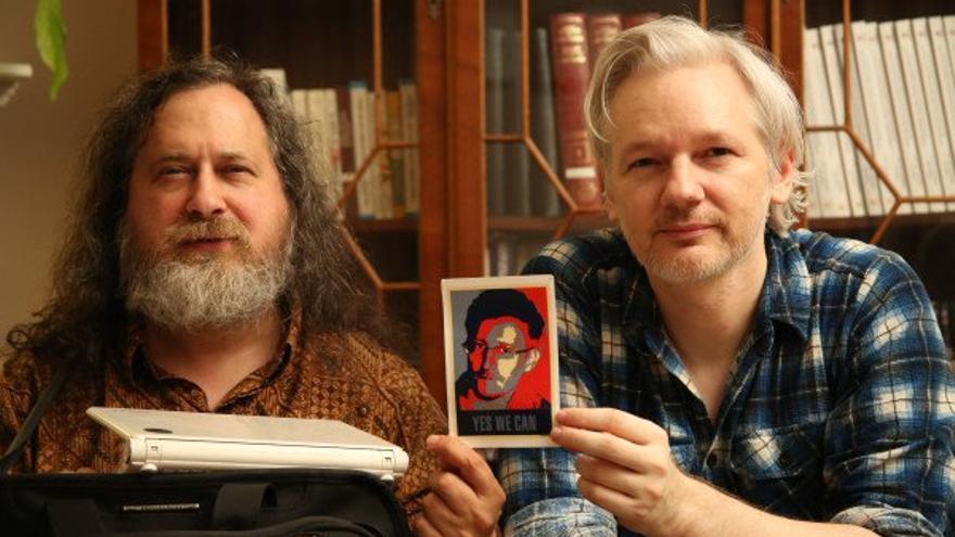 Julian Assange, Snowden, Stallman CC: Free Software Fundation