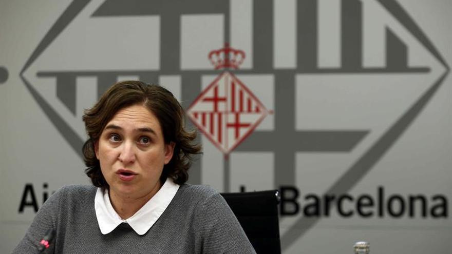 Colau investigará las obras que contrató CiU en el Ayuntamiento de Barcelona