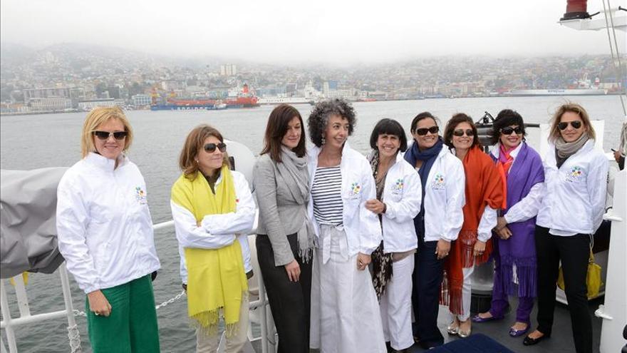 Cónyuges de dirigentes que participan en Cumbre Celac-UE visitan Valparaíso