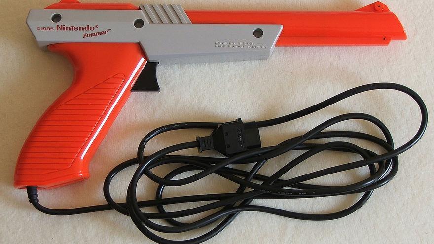 La pistola Nintendo Zapper (Imagen: Wikipedia)