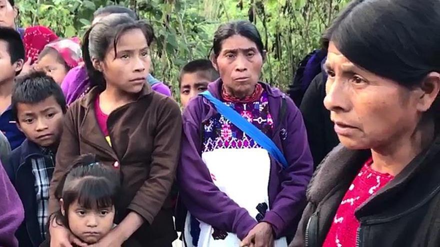 Una amarga navidad aguarda a más de 5.000 desplazados en Chiapas