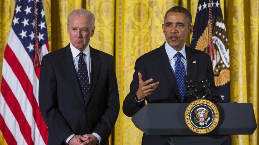 Obama aborda la violencia en Irak con Biden y parlamentarios de ese país