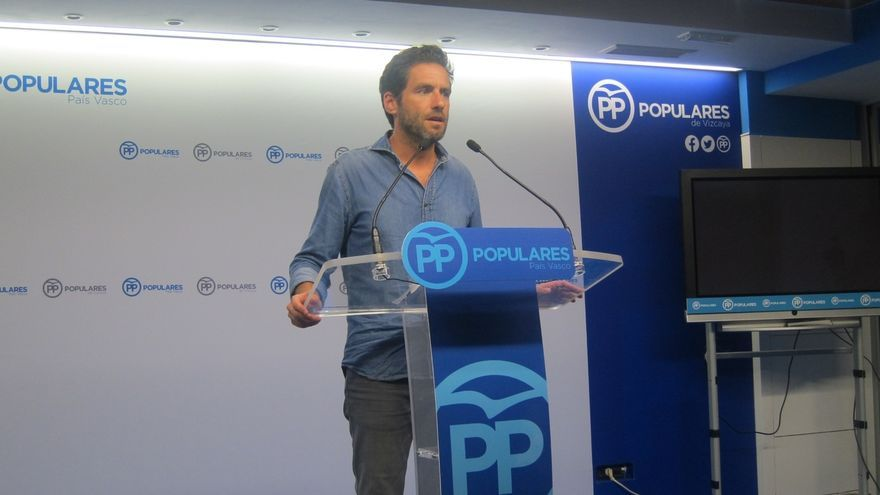 """PP vasco dice a PNV que """"entorpecer los presupuestos perjudica a Euskadi"""" y ve """"importante"""" que haya """"un deshielo"""""""