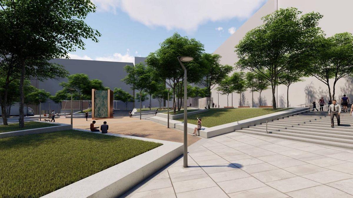 Detalle del proyecto para la futura Plaza de Pedro Zerolo | AYUNTAMIENTO DE MADRID
