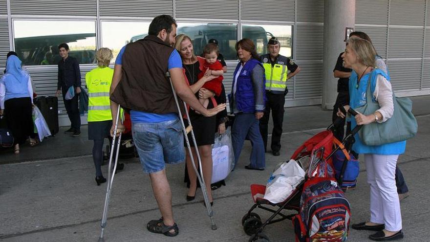 La distinta suerte de los refugiados en España