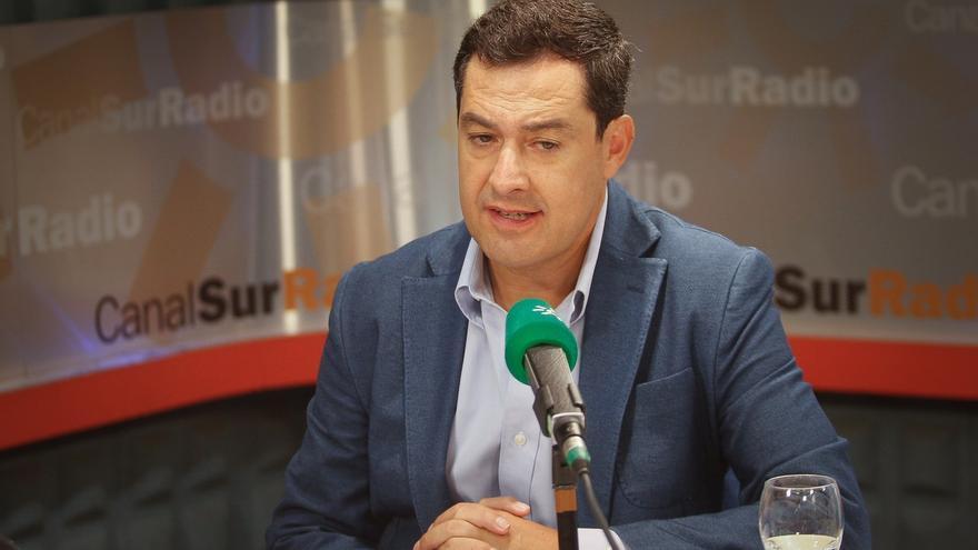 """Moreno afirma que le ha """"molestado"""" que Sánchez no lo llamara para ofrecer colaboración ante alerta de listeriosis"""