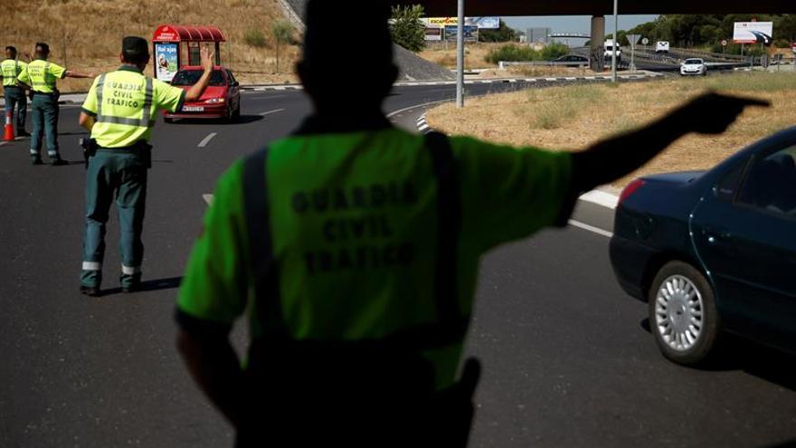Detenido por conducir drogado y a 230 km/h por la A-1