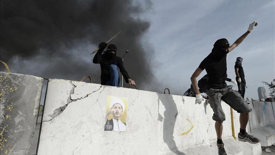Baréin vive una huelga parcial y disturbios en el cuarto aniversario de la revuelta