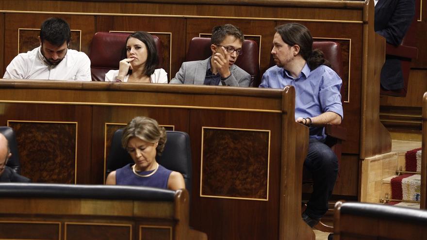 """Iglesias: Son los círculos y no """"gente con relevancia mediática"""" los que deben protagonizar las primarias en Madrid"""