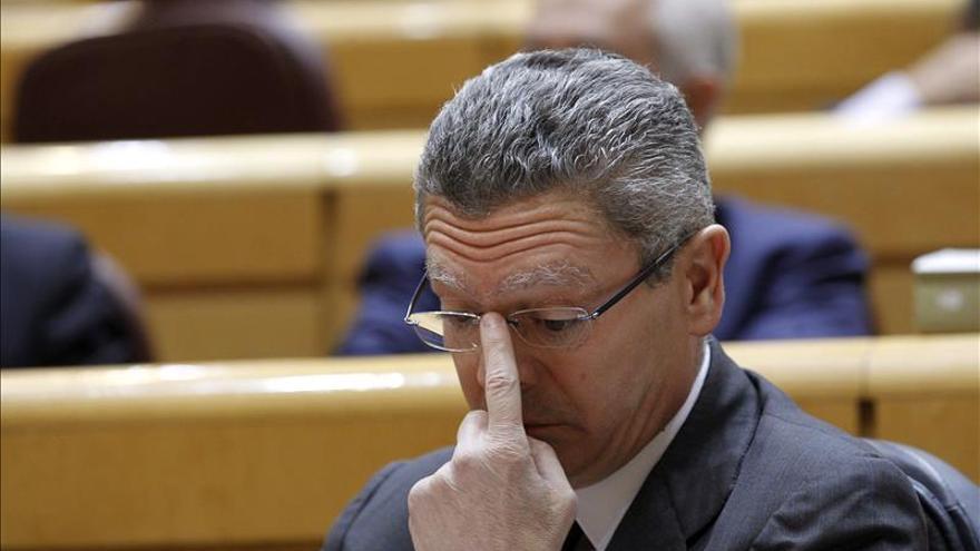 """Gallardón dice que todos los militantes del PP tienen """"mucho afecto"""" a Aznar"""