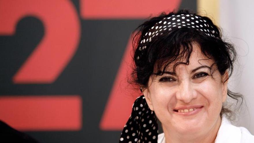 La poeta almeriense Aurora Luque, XXXII Premio de Poesía Loewe