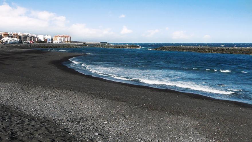 Playas en el Puertito de Güímar