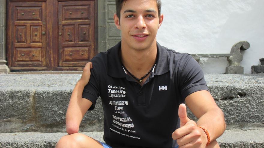 Carlos Pérez tiene un gran sentido del sacrificio y la disciplina. Foto:  LUZ RODRÍGUEZ.