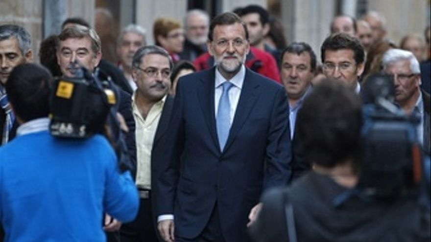 Rajoy De Visita En Lugo