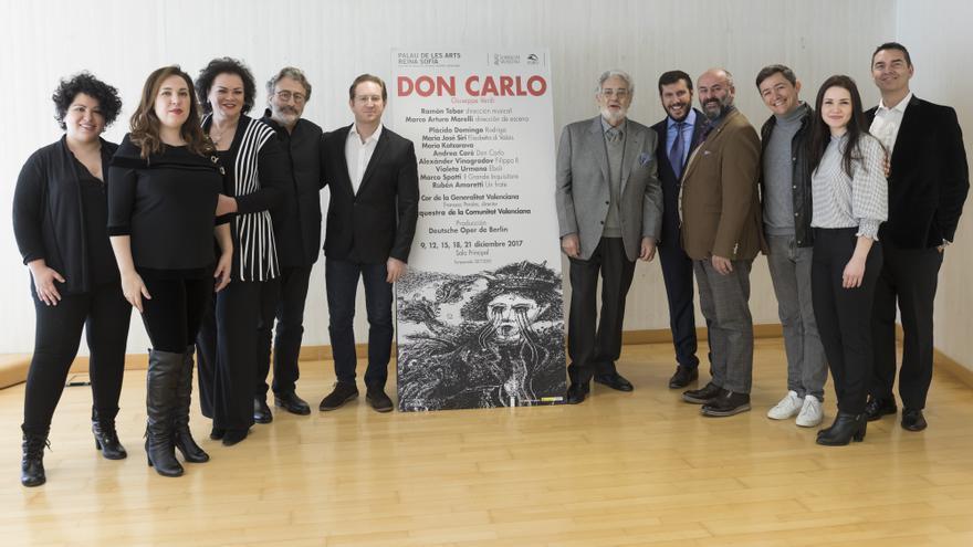 Presentación del repertorio de 'Don Carlo' en Les Arts