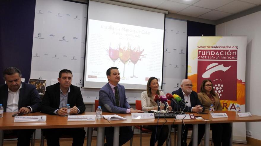Presentación del programa de catas en Albacete