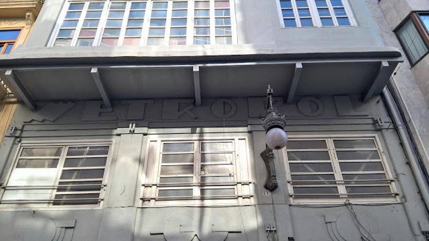Edificio del antiguo cine Metropol, en Valencia.