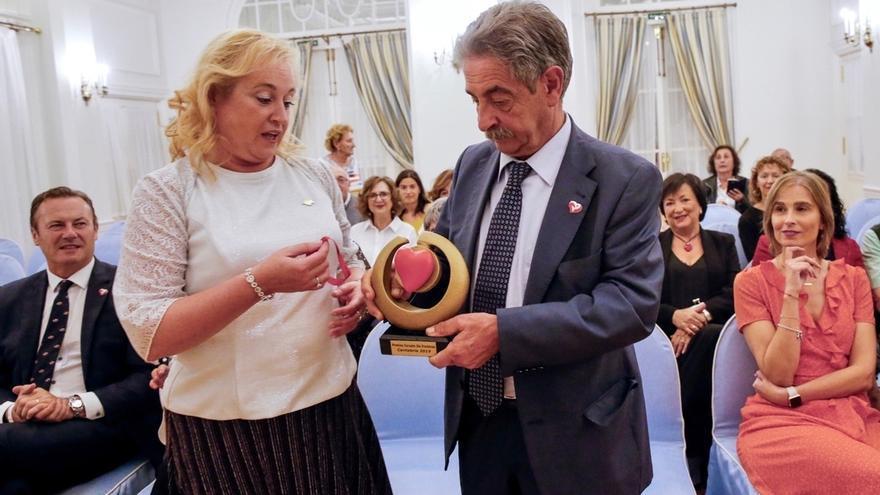Revilla recoge el Premio del Corazón 2019 de la Asociación Corazón Sin Fronteras
