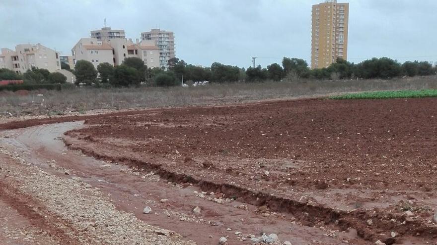 Erosión en el Mar Menor