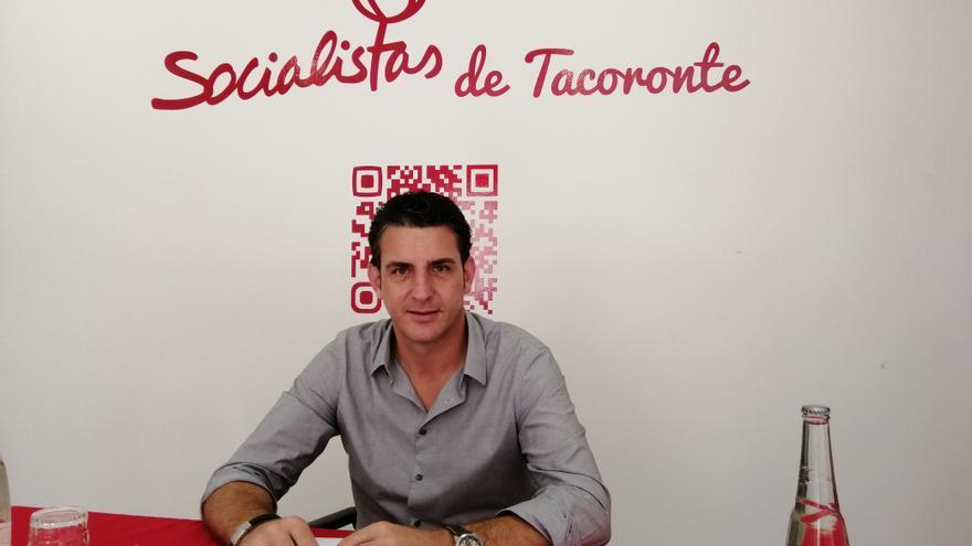 Carlos Medina, aspirante del PSOE a alcalde en el municipio de Tacoronte