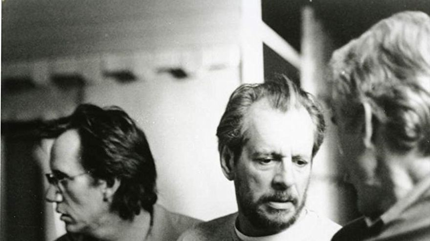 James Woods y Larry Clark en el rodaje de 'Al final del Edén'