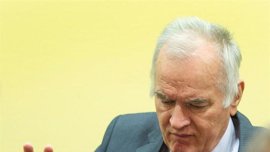 El TPIY inicia las deliberaciones finales para decidir la sentencia de Mladic
