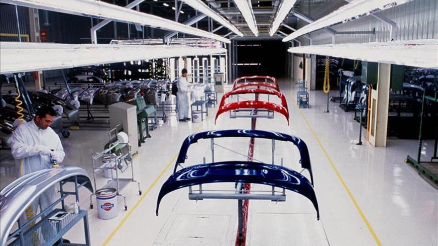 La producción de vehículos en España crece en octubre en un 14,5 por ciento