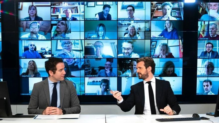 El PP arremete contra la gestión del Gobierno a 48 horas de la reunión entre Sánchez y Casado
