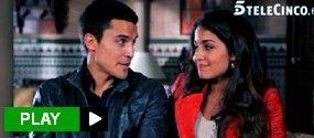 Así se besan Álex González y Hiba Abouk, y recuerdan su primera escena de sexo en 'El Príncipe'