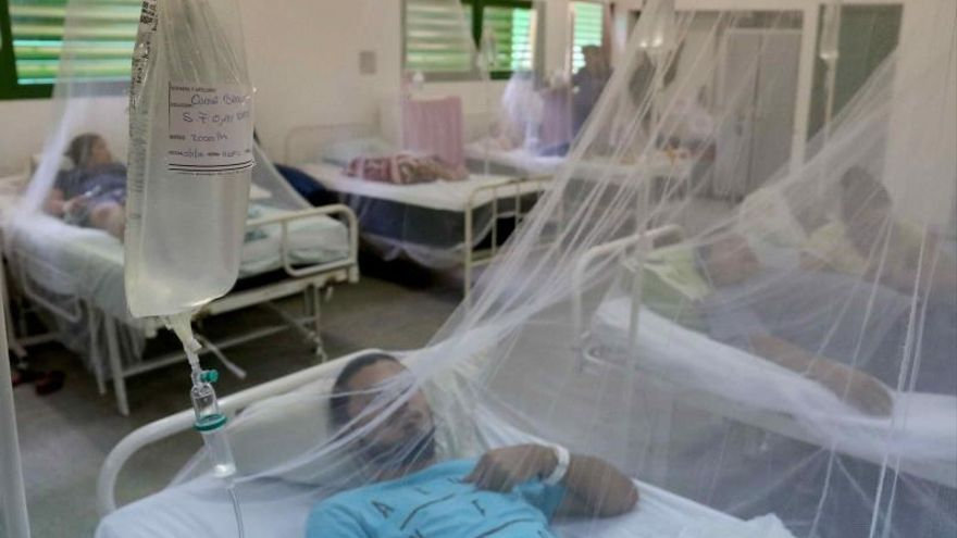 Según un informe de la Organización Panamericana de la Salud (OSP) sobre el dengue, hasta la tercera semana de julio pasado Nicaragua registró 49.929 casos positivos, lo que la ubicó únicamente por detrás de Colombia (65.149) y Brasil (1,3 millones).