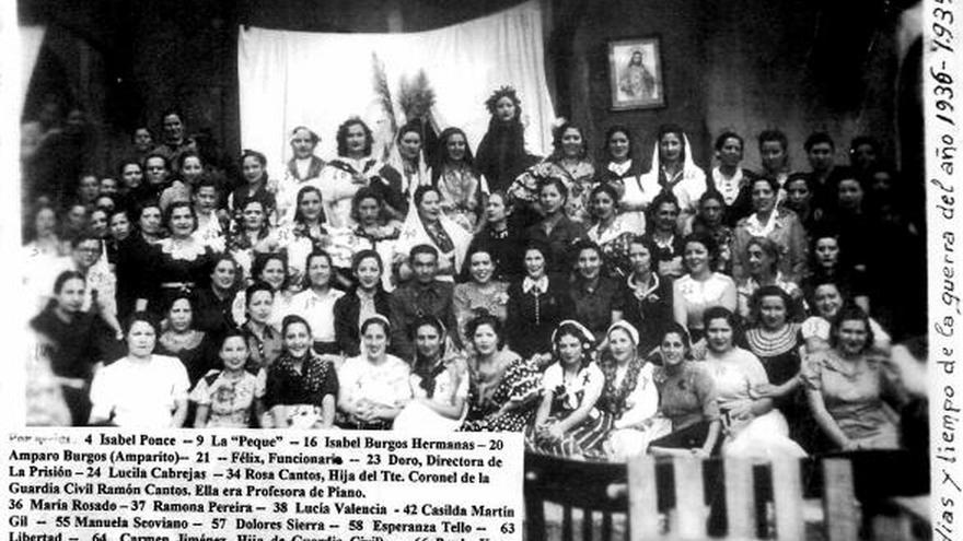 Imagen de una cárcel de mujeres de Bizkaia durante la Guerra Civil y el franquismo