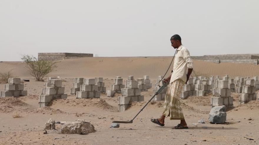 Las minas antipersona causaron 6.900 muertes en 2018, casi el doble que en 2014