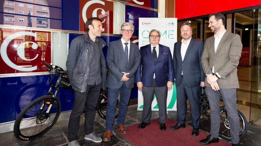 La Oficina de Promoción de la Movilidad Eléctrica se ha inaugurado este lunes en Zaragoza